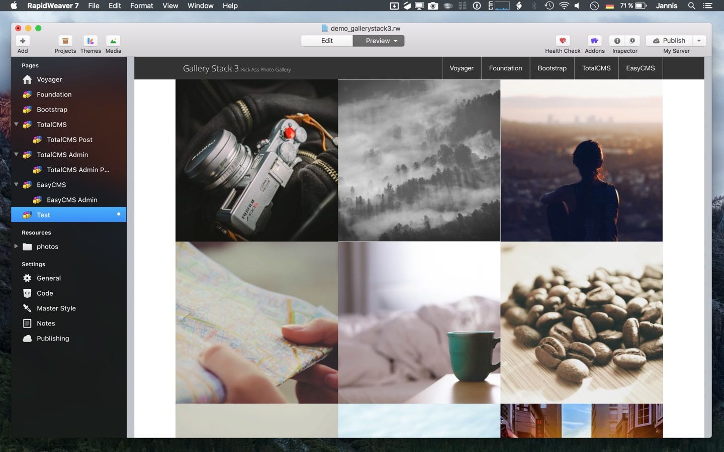 inStacks Software | Gallery Stack 3 - The most versatile and