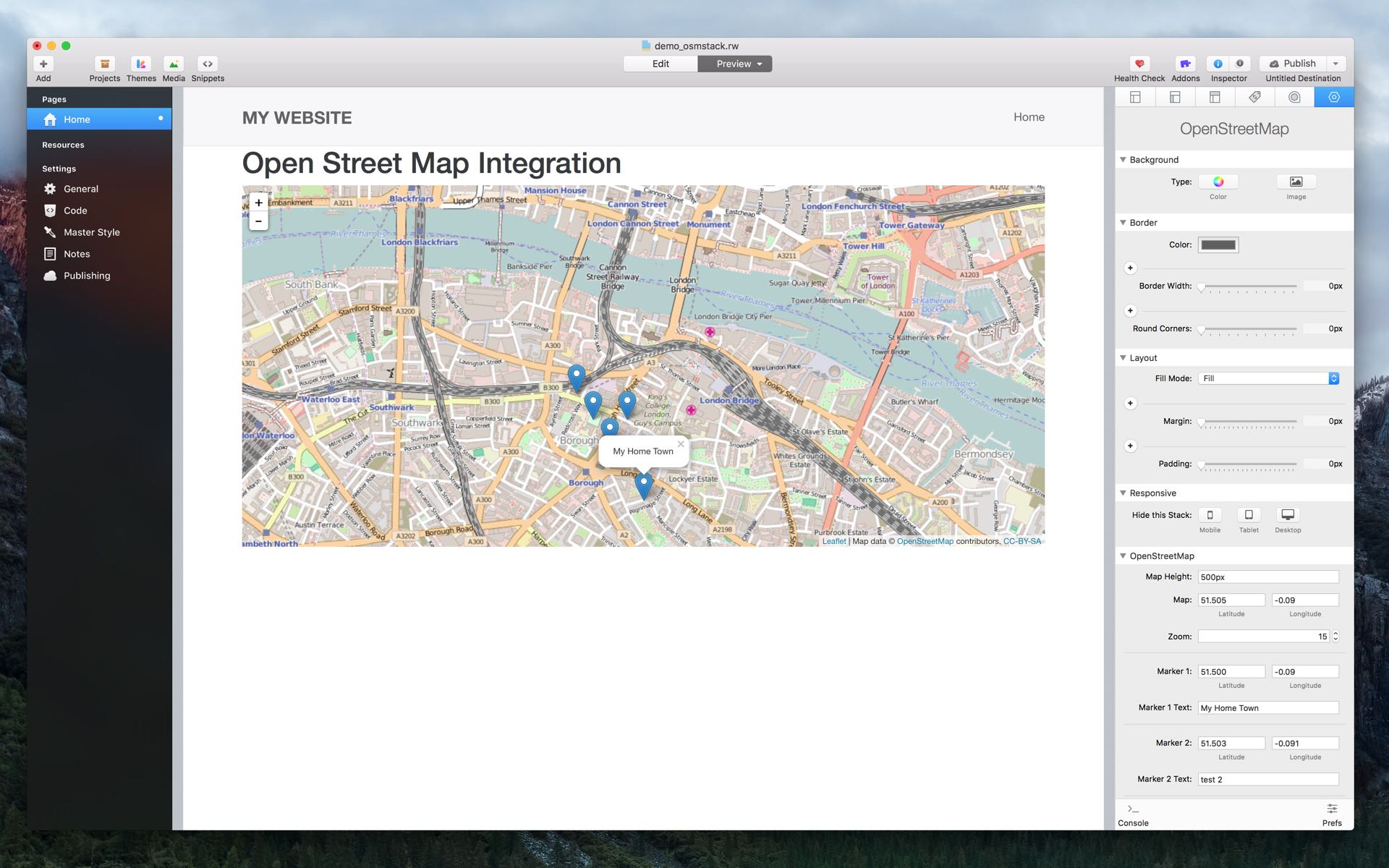 inStacks Software | OpenStreetMap Stack - Integrate Free
